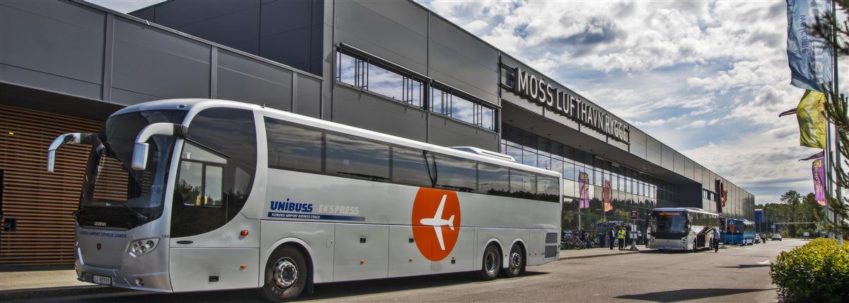 Bus from Rygge airport to Oslo city center